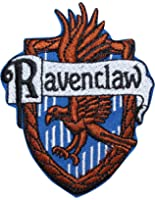 Ravenclaw Hogwarts' House Crest Harry Potter Embroidered Iron On Applique Patch