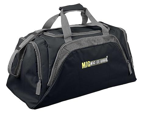 Mens Large Black Holdall Bag