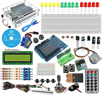 Sintron Arduino Uno R3 Board Starter Kit With Pdf Files