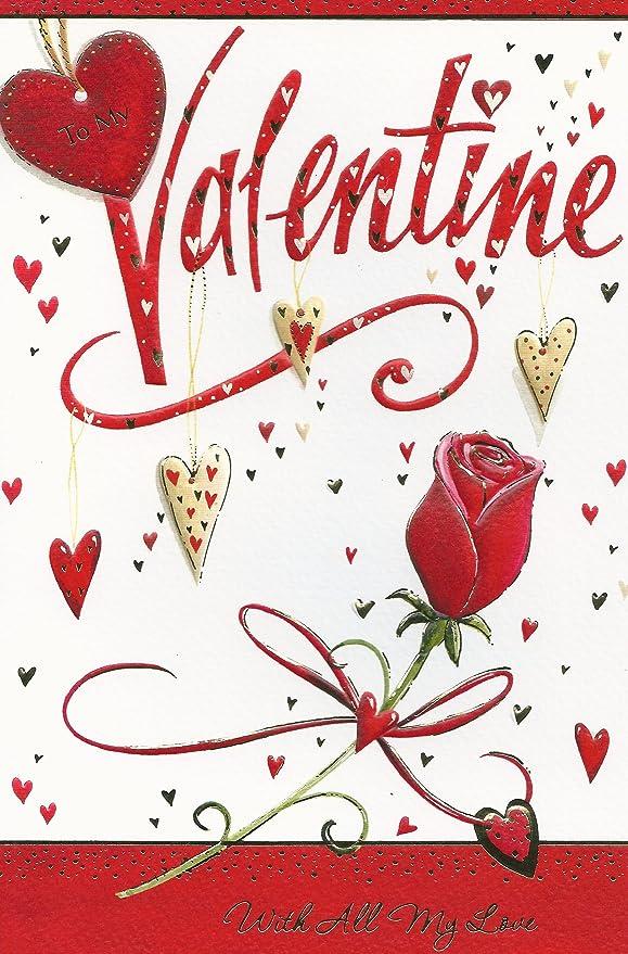 A mi Tarjeta de San Valentín con todo mi amor: Amazon.es: Hogar