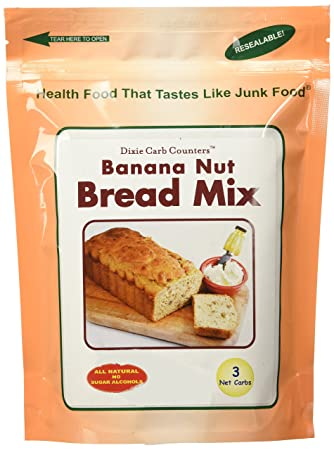 Amazon Com Dixie Carb Counters Banana Nut Dessert Bread Mixes No