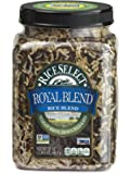 RiceSelect Royal Blend, Texmati White, Brown, Wild & Red Rice, 21-Ounce