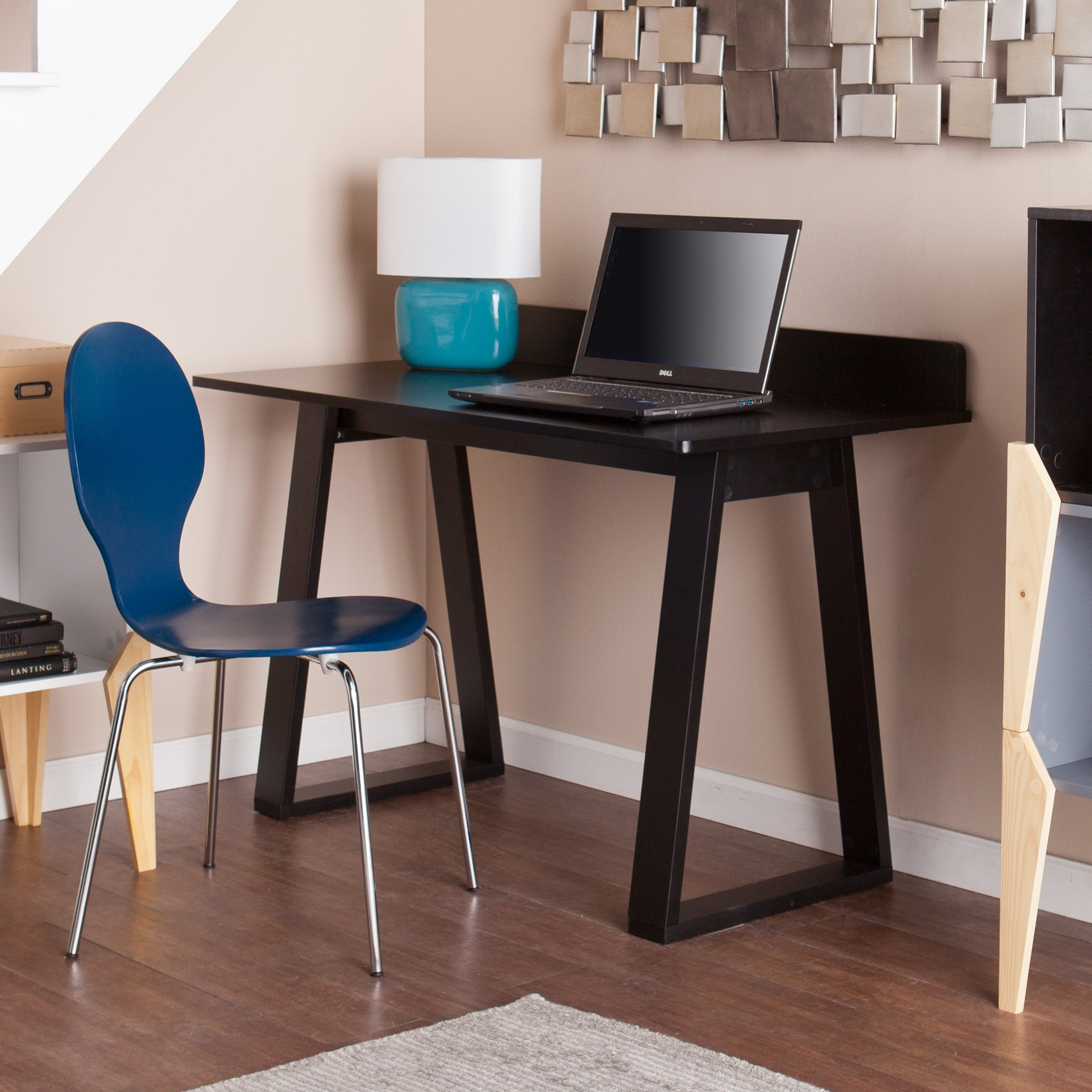 Holly & Martin Hagio Desk 48'' Wide, Crisp Black Finish by Holly & Martin