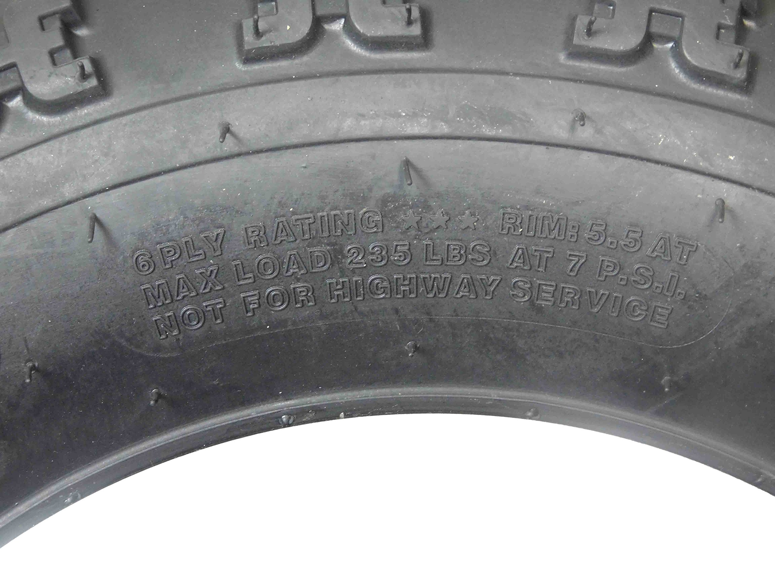 New MASSFX ATV Sport Quad Tires 21X7-10 20X10-9 6 Ply Dual Compound Front Rear For Yamaha Raptor Banshee Honda 400ex 450r 660 700 400 450 350 250 (Four Pack two Front 21x7-10 and Two Rear20x10-9 6) by MassFx (Image #4)