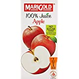 MARIGOLD 100% Juice, Apple, 200ml, (Pack of 24)
