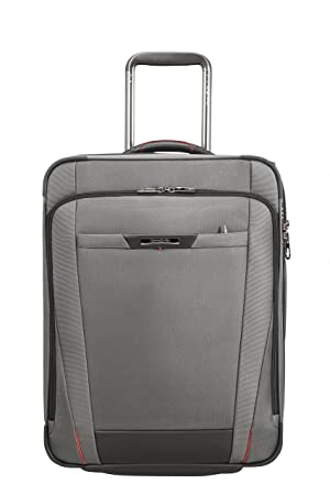 SAMSONITE Pro-DLX 5 - Upright 55 cm Expandable 44.5/54 L, 3.3 KG Equipaje de Mano, cm, 54 Liters, Gris (Magnetic Grey): Amazon.es: Equipaje