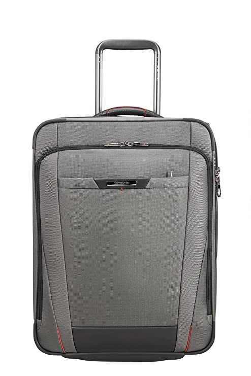 SAMSONITE Pro-DLX 5 - Upright 55 cm Expandable 44.5/54 L, 3.3 KG Equipaje de Mano, cm, 54 Liters, Gris (Magnetic Grey)