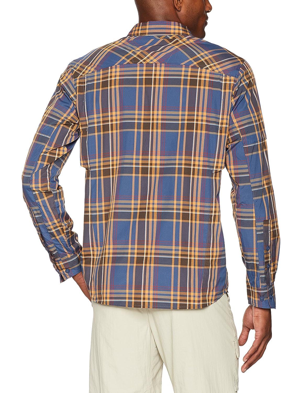 Columbia Mens Silver Ridge Plaid Long Sleeve Shirt