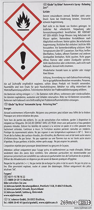 Glade by Brise Relaxing Zen Beige ambientador y dispensador automático - Ambientadores y dispensadores automáticos (Interior, Beige): Amazon.es: Salud y ...
