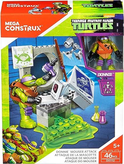 Mega Construx Teenage Mutant Ninja Turtles Donnies Mouser Attack Building Kit