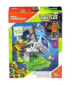 Teenage Mutant Ninja Turtles Geheimversteck Mattel DMX55 Mega Bloks