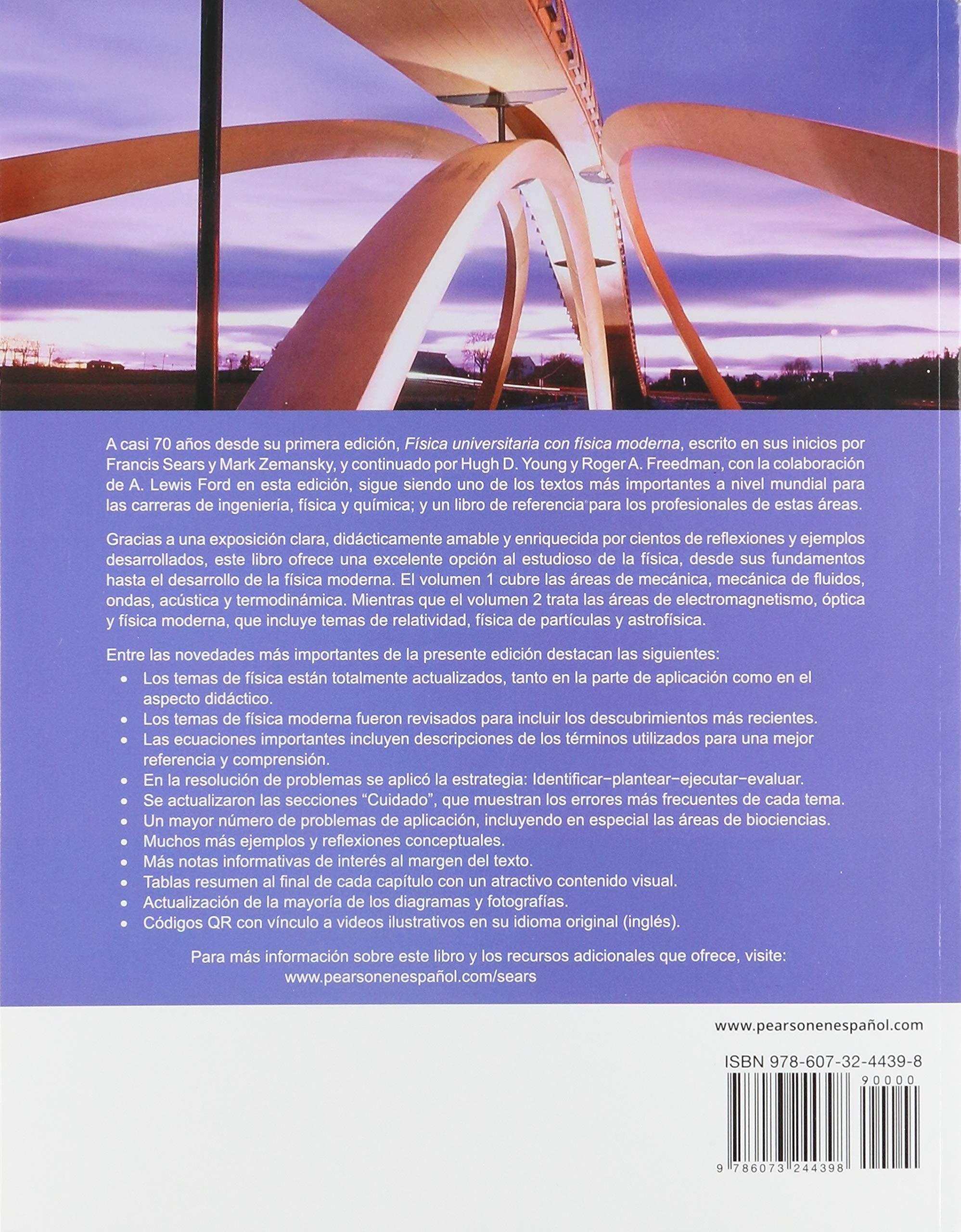 Física universitaria con física moderna 1 14ª ed Sears y