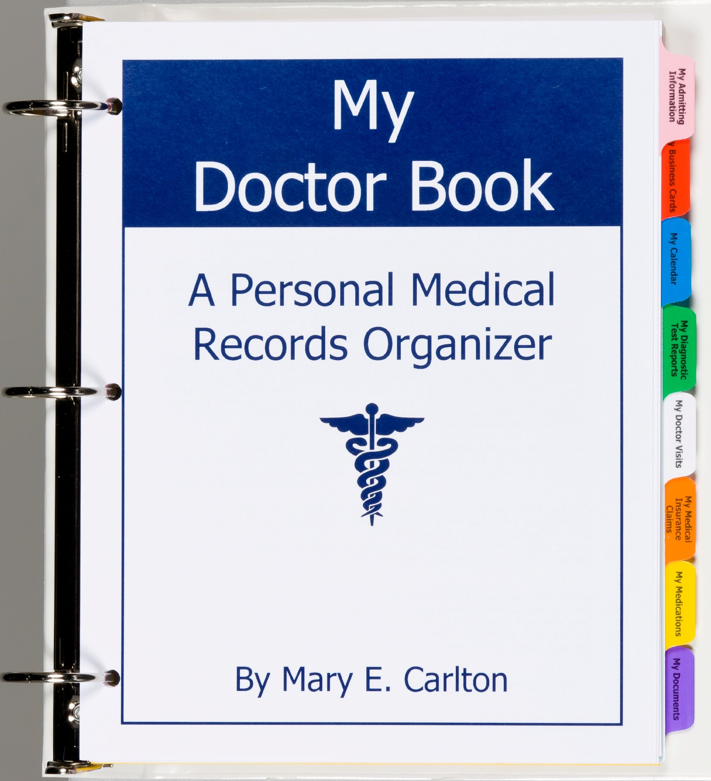 my doctor book a personal medical records organizer winner of