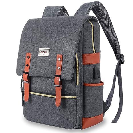 9c8665d6f56f Amazon.com: Unisex College Bag, Vintage Backpack, JDHDL Travel ...