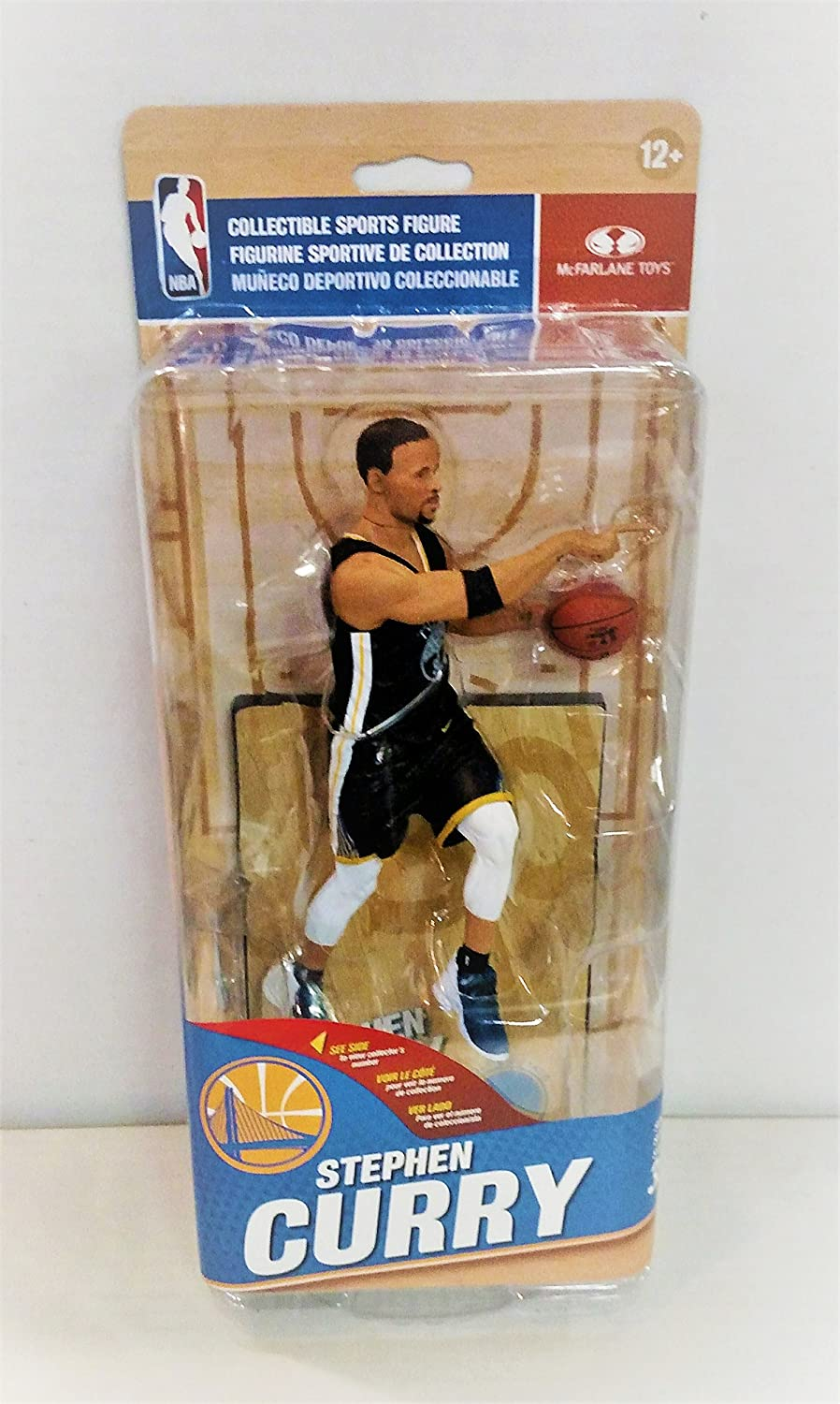 McFarlane NBA Golden State Warriors Stephen Curry The Town Figurine   B07CLS8W3R