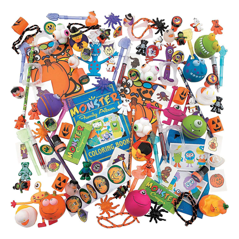 Fun Express 500 Piece Bulk Toy Assortment for Halloween (500 Pieces) by Fun Express
