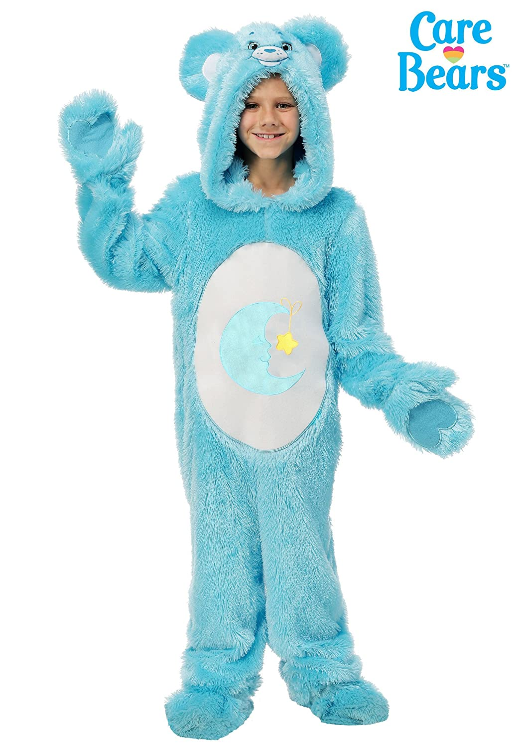 Amazon Com Care Bears Child Classic Bed Time Bear Costume Small