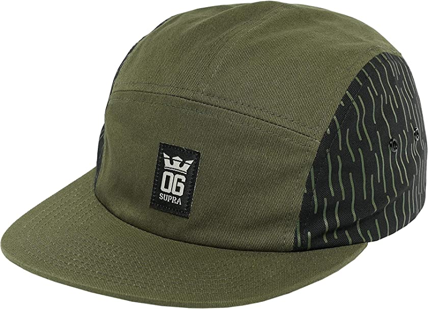 Supra Hombres Gorras/Gorras 5 Panel OG Crown 5 Panel Hat: Amazon ...