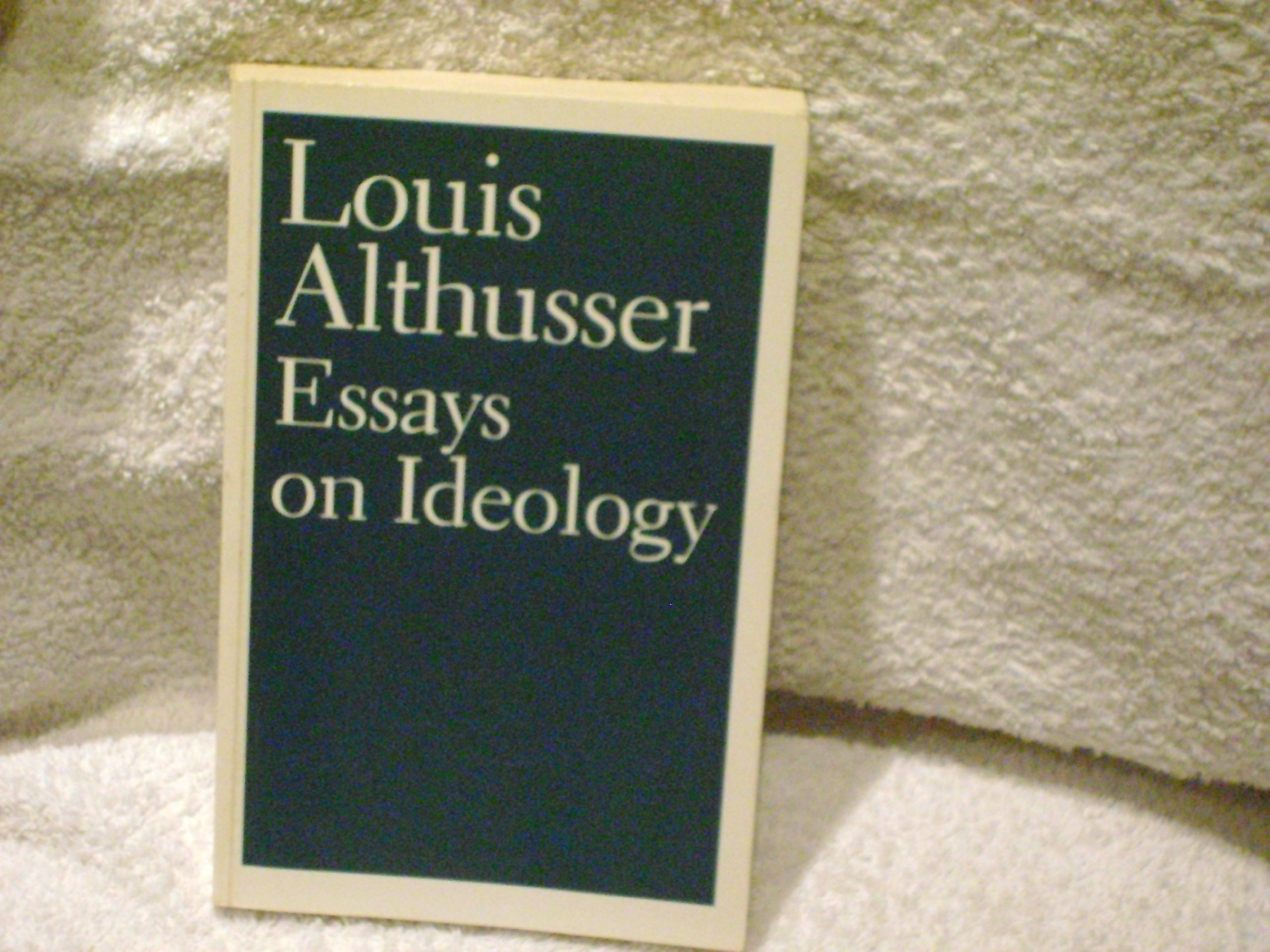 essays on ideology louis althusser b brewster g lock essays on ideology louis althusser b brewster g lock 9780860917847 com books