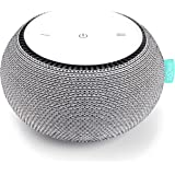 SNOOZ White Noise Sound Machine - Real Fan Inside for Non-Looping White Noise Sounds - App-Based Remote Control, Sleep…