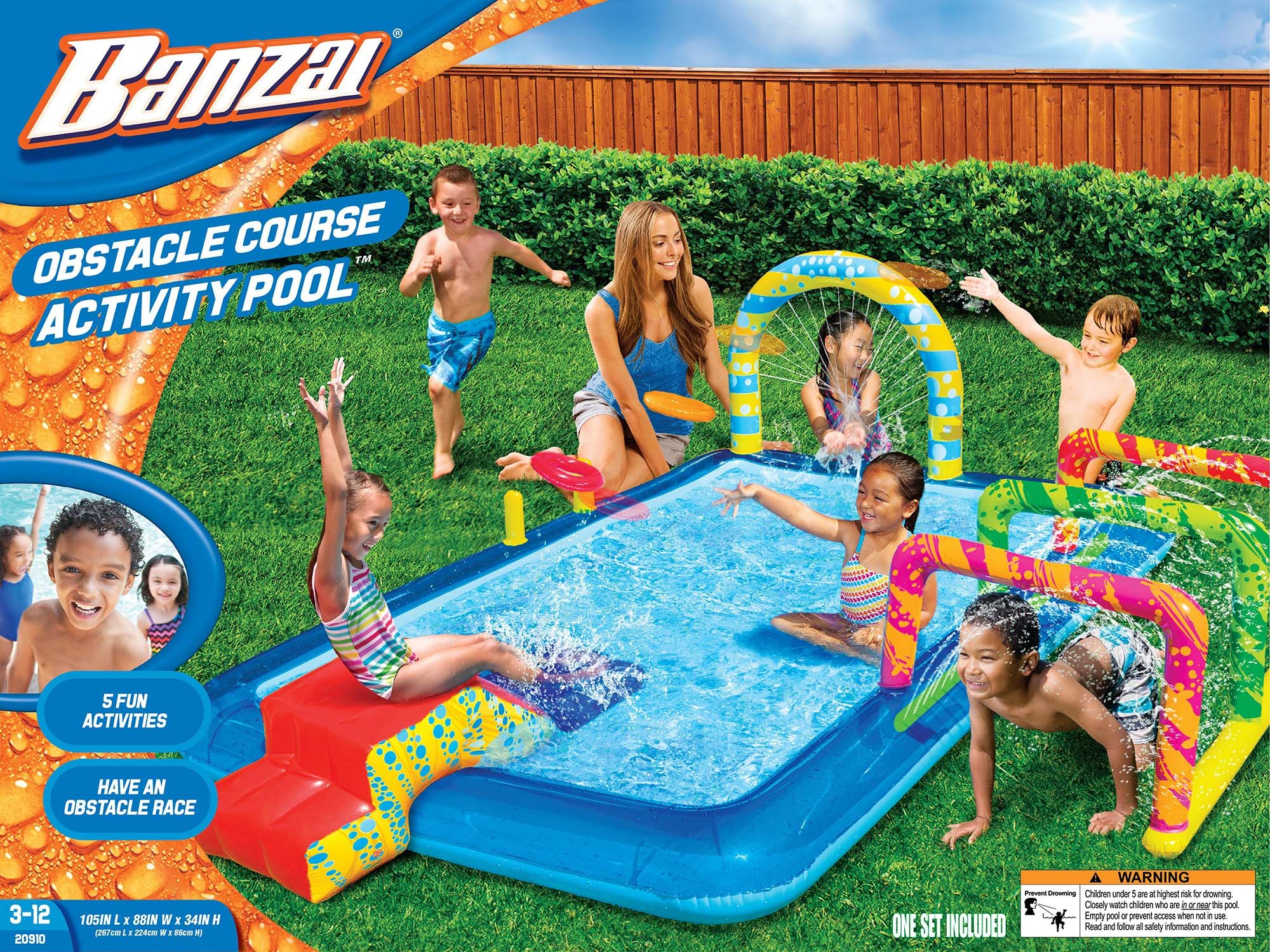 BANZAI Obstacle Course Activity Pool by BANZAI (Image #1)