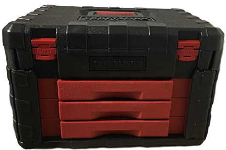 Amazon com: Craftsman 99040 Tool Box with molded Trays for