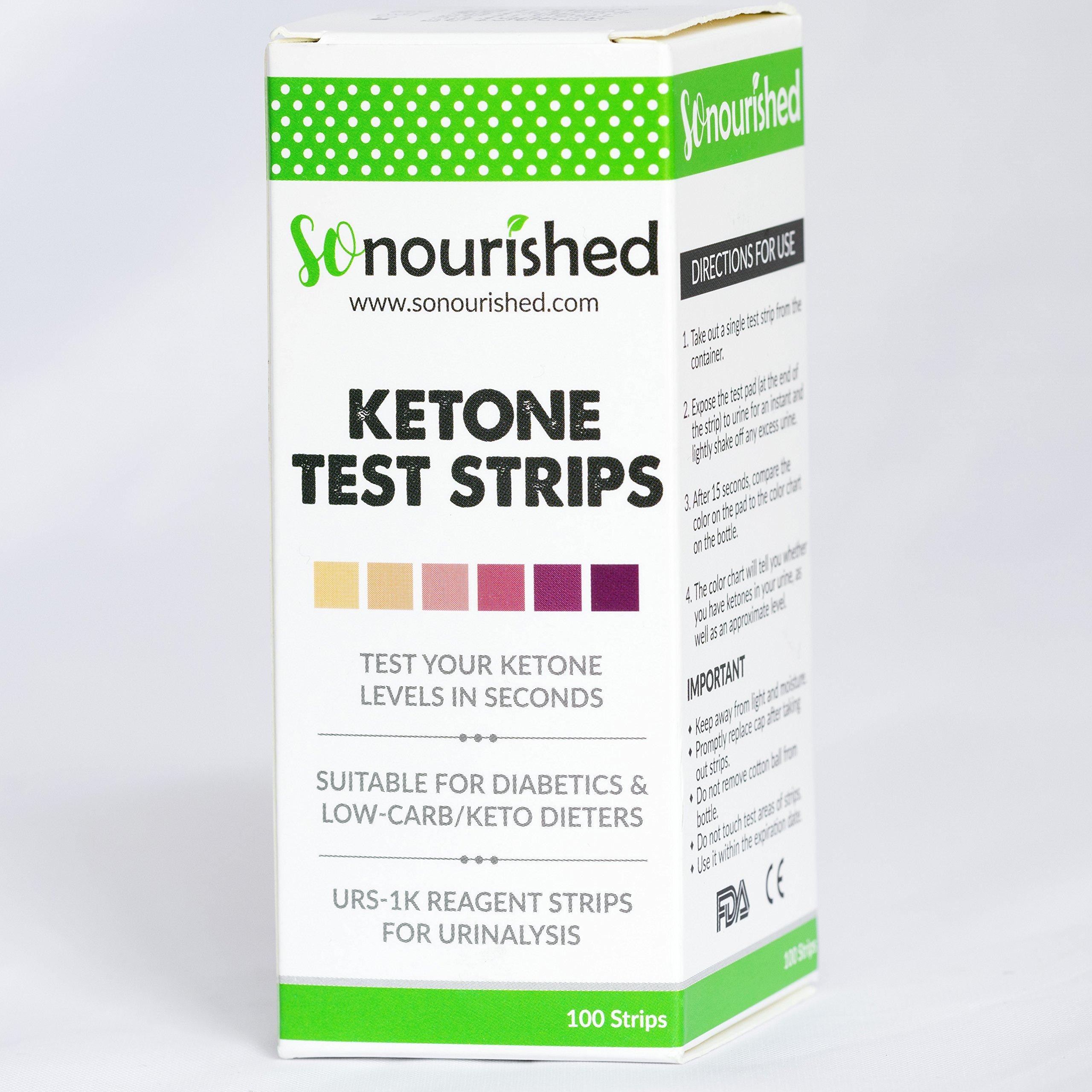 Urine Ketone Strips Ketosis Strips Diabetic Test Strips Ketosis