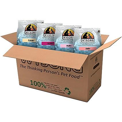 Amazoncom Wysong Feline Variety Pack Dry Cat Food Four 5 Pound
