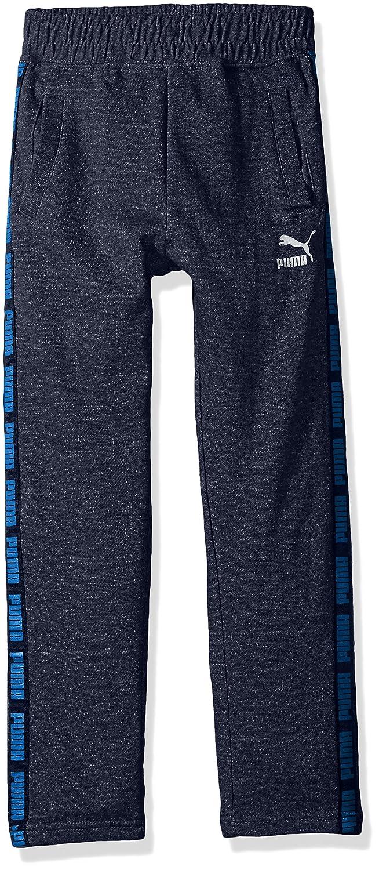 PUMA Big Boy's Boys' Tapered Pant Pants, Navy Heather, Large 91173225FAZ-P491