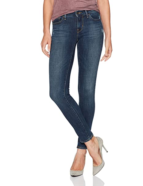 Amazon.com: Levis 711 jean ajustado para mujer: Clothing