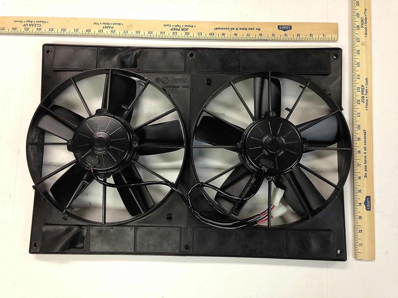 SPAL 2 va06-bp70/ll-37s 24 V ventilador de refrigeración: Amazon ...