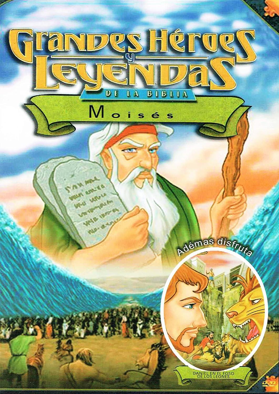 Amazon.com: Grandes Heroes Y Leyendas De La Biblia: Moises: DVD-1547: Movies & TV
