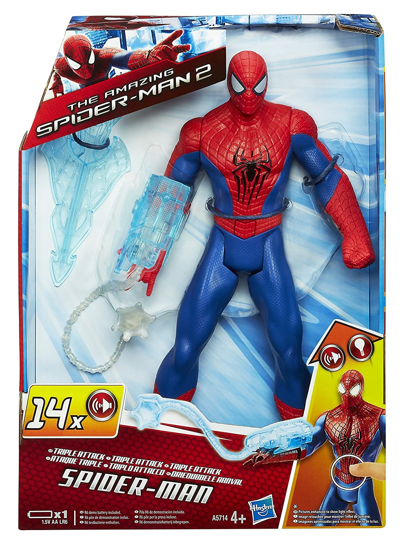 Figura electr/ónica de Spiderman Hasbro A5714E24 Marvel Spiderman