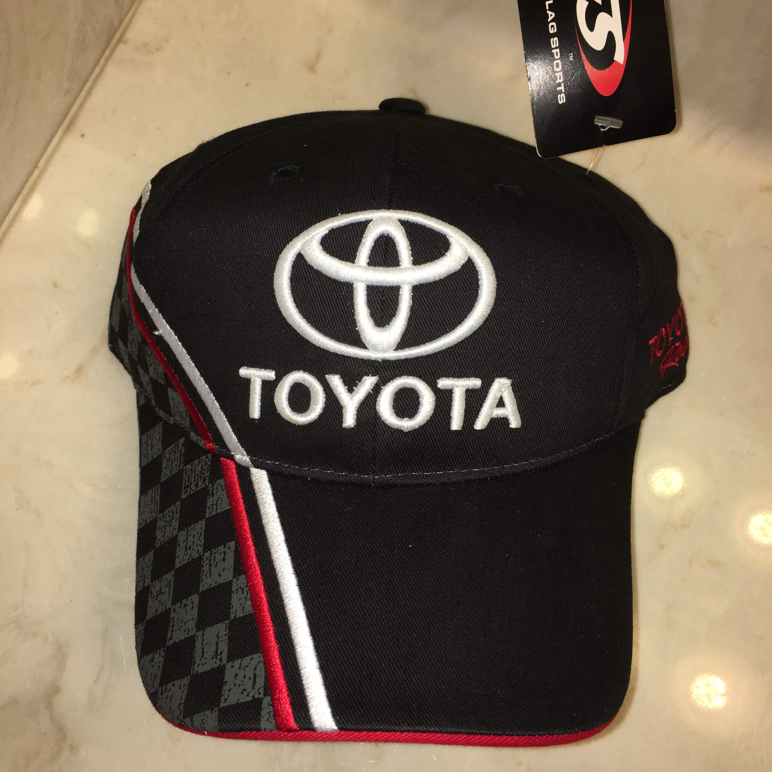 2010 NASCAR TOYOTA RACING VICTORY LANE HAT CAP SEWN