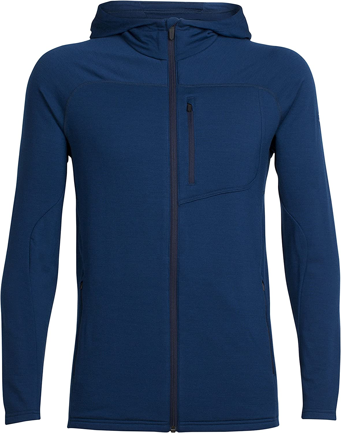 Icebreaker 103453 Mens Mt Elliot LS Zip