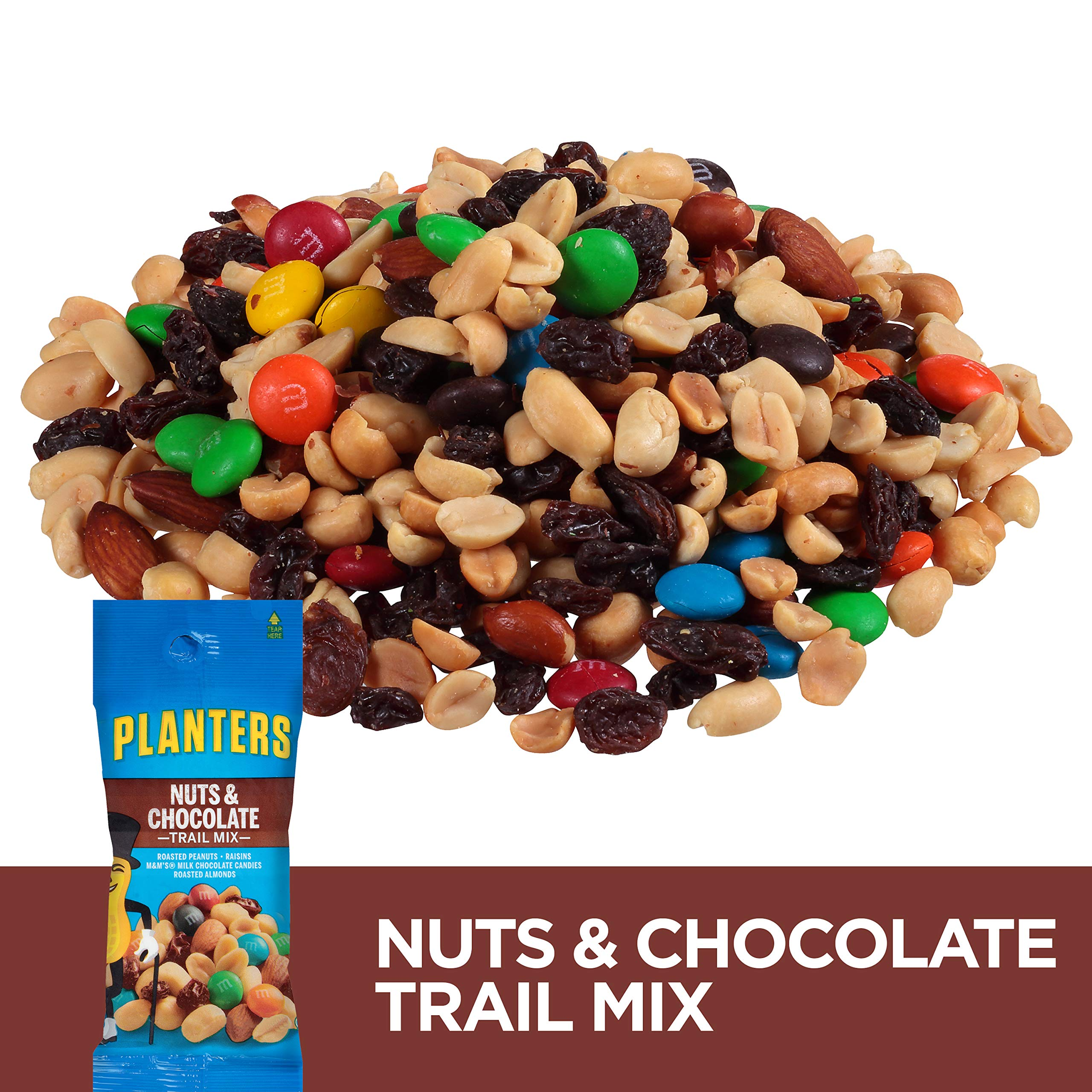 Planters Nuts & Chocolate M&M's Trail Mix, 2 oz Bag (Pack of 72) by Planters (Image #4)