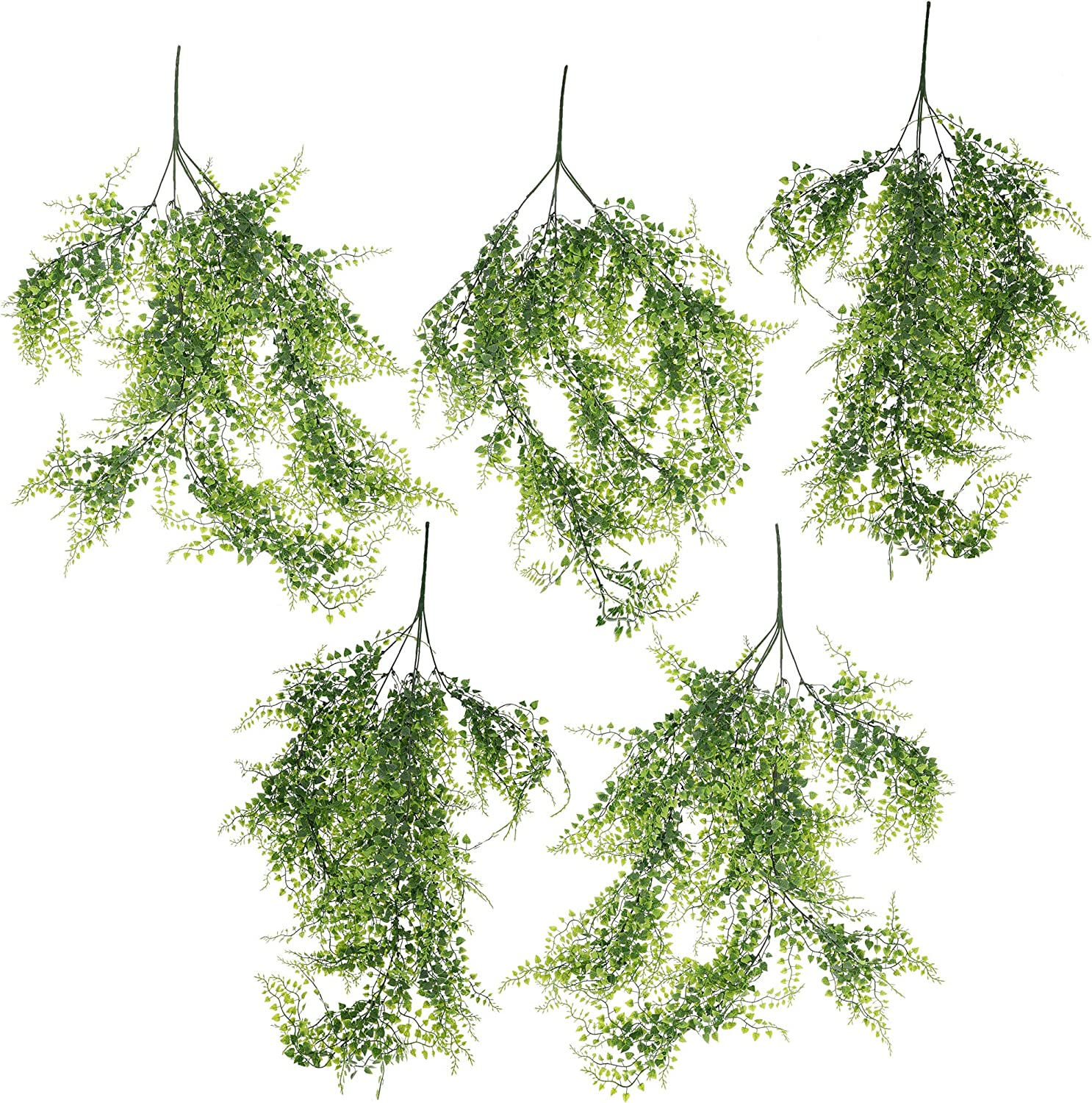 Decor Bright Creations Artificial Ivy for DIY Crafts 5 Pack