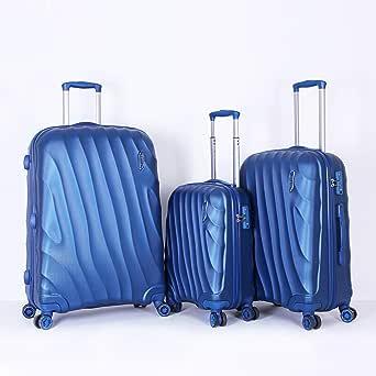تيتان حقائب سفر بعجلات للجنسين  ، ازرق ، 3 قطع