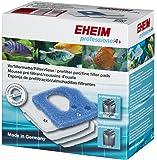 EHEIM Set de Mousse Filtration + 4 Coussins de Ouates pour Aquariophilie