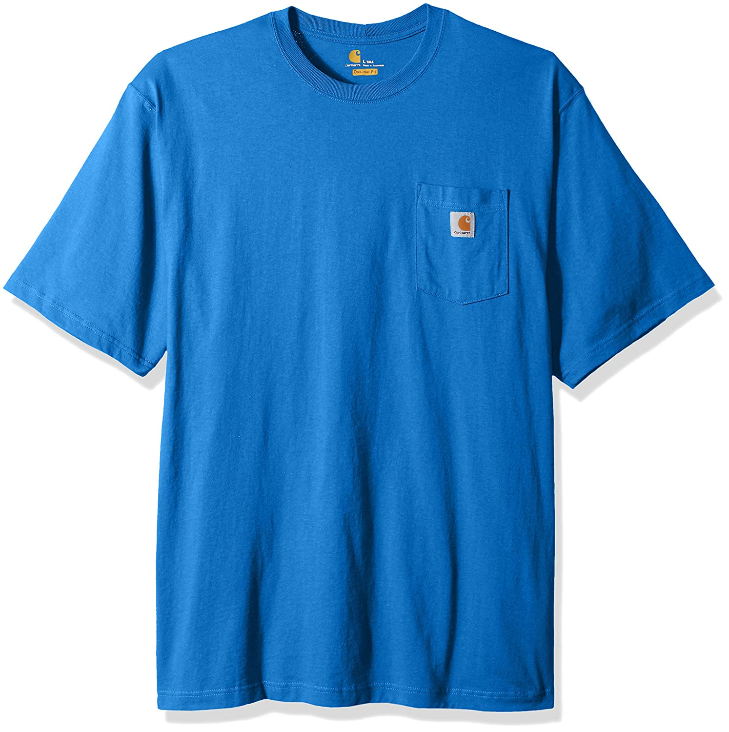 Carhartt SHIRT メンズ B06WLH29P1 Large Tall|Cool Blue Heather Cool Blue Heather Large Tall