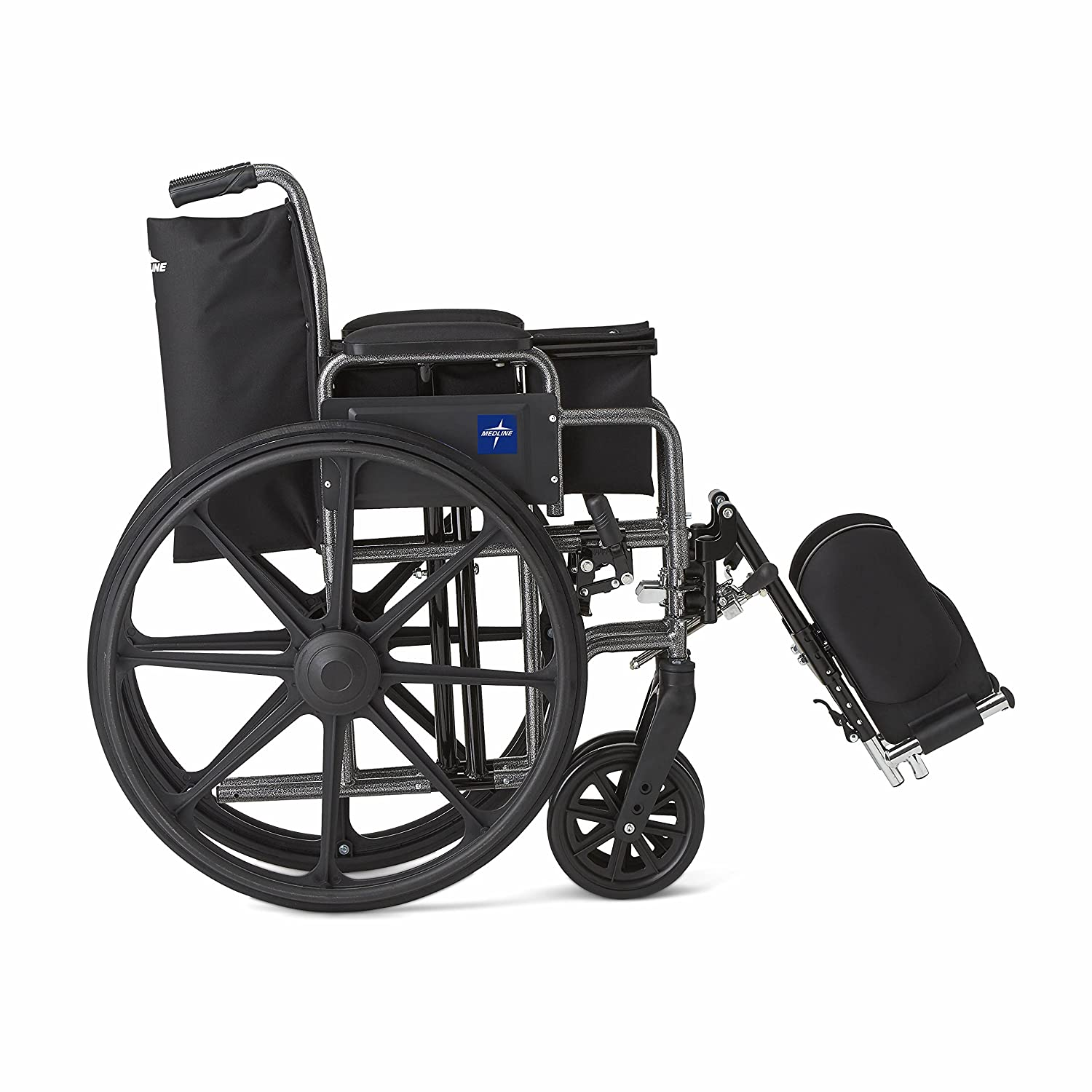 amazon com medline strong and lightweight wheelchair with desk