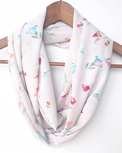 Infinity Scarf Spring Indoor Accessory For Women Birthday Gift Mom