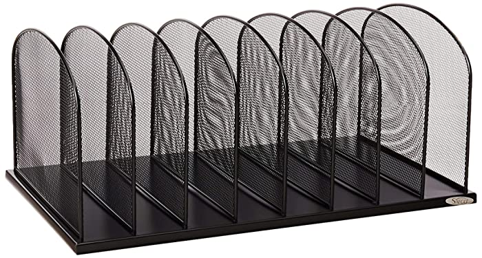 Top 9 8 Slot Metal Vertical Office Organizer