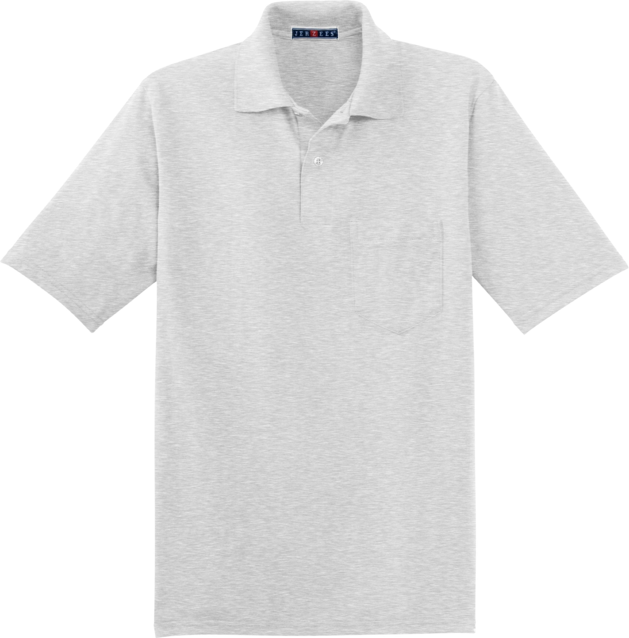 b31ab429 JERZEES -SpotShield 5.6-Ounce Jersey Knit Sport Shirt with Pocket. 436MP