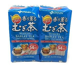 ITO EN Japanese Barley Tea Kaori Kaoru (Aromatic) Mugichae Tea COLD/HOT 108 Bags