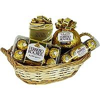 Coffret Cadeau de Noël avec Ferrero Rocher (avec 4 pièces)