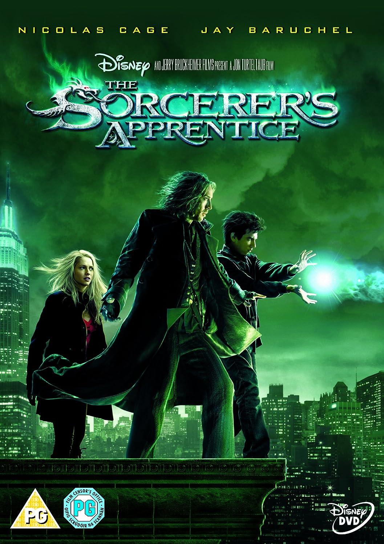 Amazon Com The Sorcerer S Apprentice Dvd 2010 Nicolas Cage Jay Baruchel Monica Bellucci Movies Tv