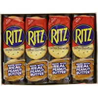 Ritz Crackers, Real Peanut Butter, 1.38 Oz, Pack of 8