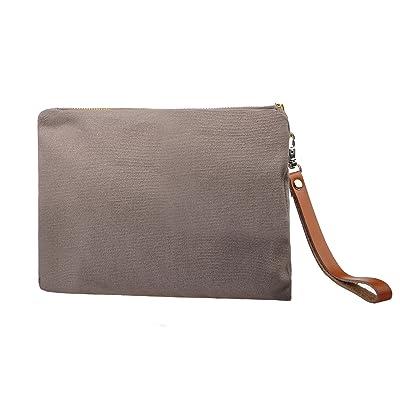 b47cb3c4168 Vercrod Minimalist Travel Canvas Makeup Cosmetic Bag Purse Pouch ...