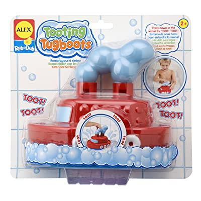 ALEX Toys Rub a Dub Tooting Tugboats: Toys & Games